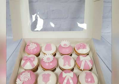 New Born Cup Cakes - Assorted designs and colours