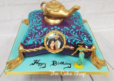 Birthday Cake - Aladdin design