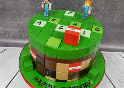 Birthday Cake - Scrabble design