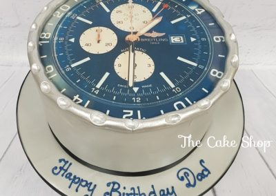 Birthday Cake - Breitling watch design