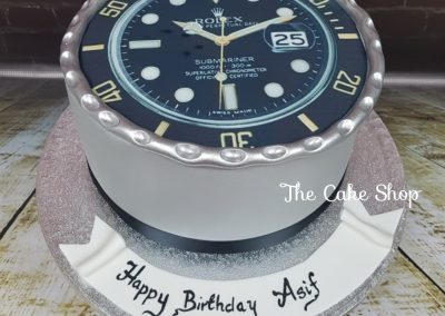 Birthday Cake - Rolex Watch design