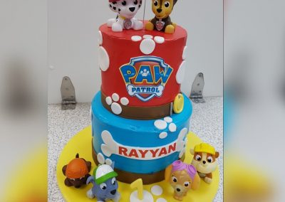 Birthday Cake - 2 tier - Paw Patrol