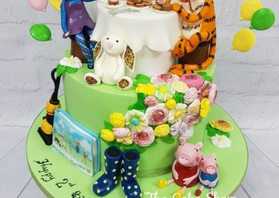 Birthday Cake - Tiger who came to tea