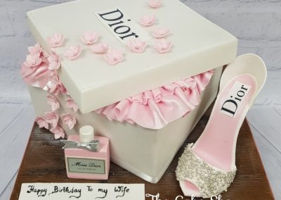 Birthday Cake - Christian Dior Shoe