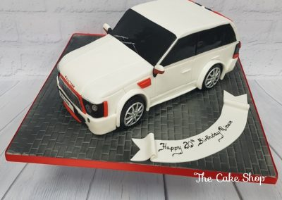 Birthday Cake - Range Rover Jeep