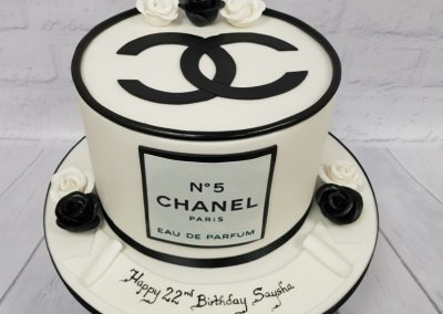 BIrthday Cake - No5 Chanel design