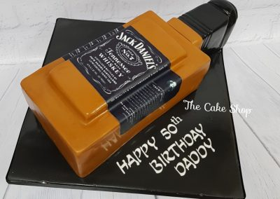 Birthday Cake - Jack Daniels