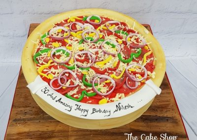 Birthday Cake - Pizza design