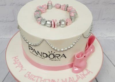Birthday Cake - Pandora bracelet