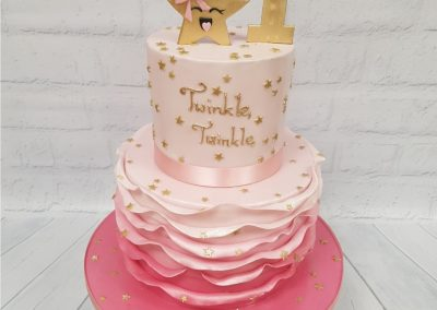 Birthday Cake - 1st Birthday - Twinkle Twinkle