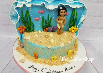 Birthday Cake - Littler Mermaid