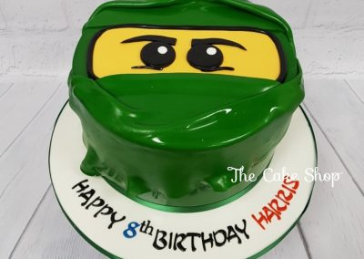 Birthday Cake - Ninja Lego