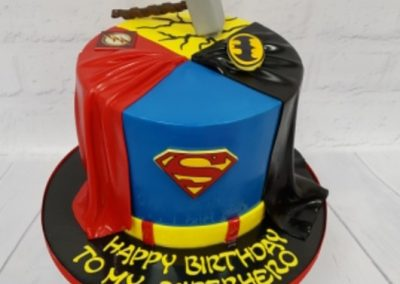 Birthday Cake - Superhero - Superman, Batman and Thor