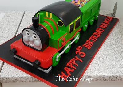 Birthday Cake - Thomas the tank engine with smartees fill