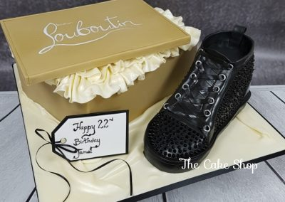 Birthday Cake - Louboutin design with designer shoe